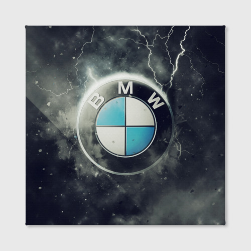 Холст квадратный Логотип BMW Фото 01