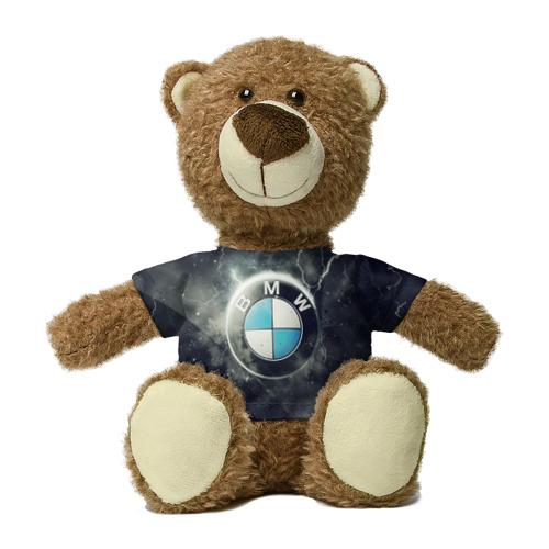 Миша в футболке 3D Логотип BMW Фото 01