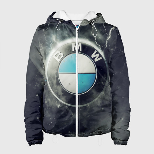 Женская куртка 3D Логотип BMW Фото 01