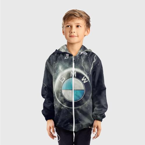 Детская ветровка 3D Логотип BMW Фото 01