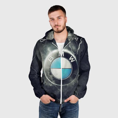 Мужская ветровка 3D Логотип BMW Фото 01
