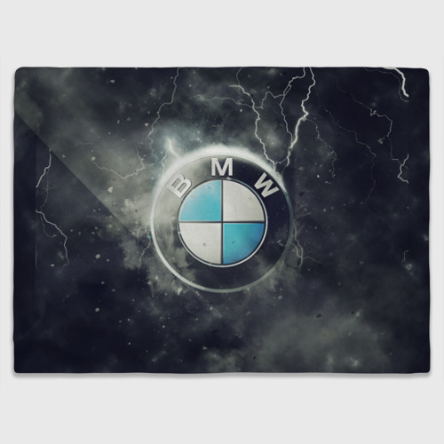 Плед 3D  Фото 03, Логотип BMW