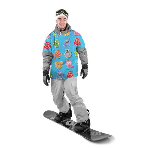 Накидка на куртку 3D  Фото 03, Школа монстров