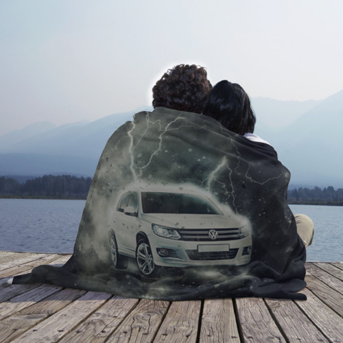 Плед 3D  Фото 02, Volkswagen Tiguan