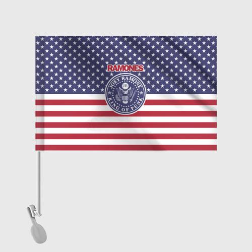 Флаг для автомобиля Ramones Фото 01