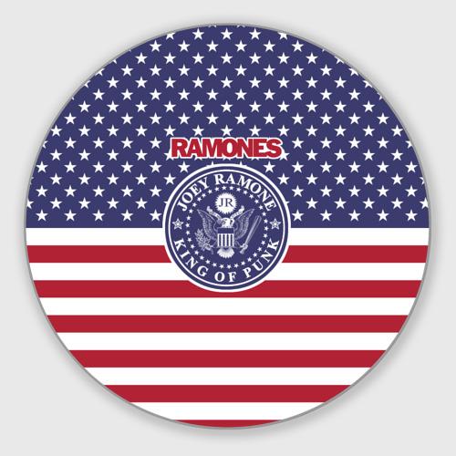 Коврик для мышки круглый Ramones Фото 01