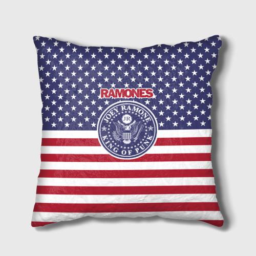 Подушка 3D Ramones Фото 01