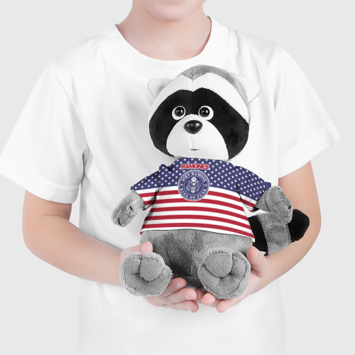 Енотик в футболке 3D Ramones Фото 01