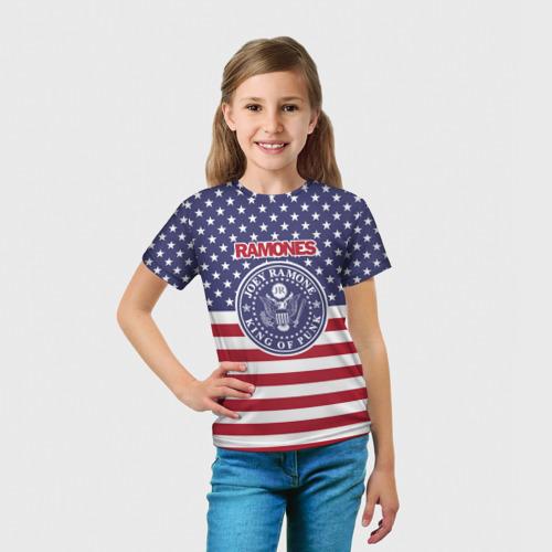 Детская футболка 3D Ramones Фото 01