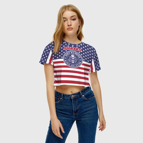 Женская футболка Cropp-top Ramones Фото 01