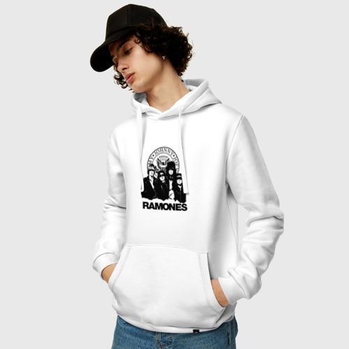 Мужская толстовка хлопок Ramones Фото 01