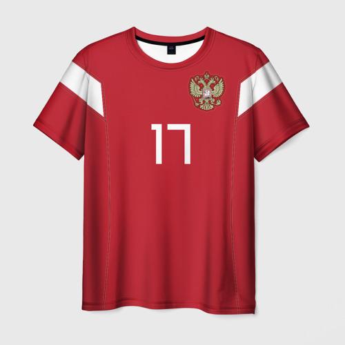 Мужская футболка 3D Головин ЧМ 2018