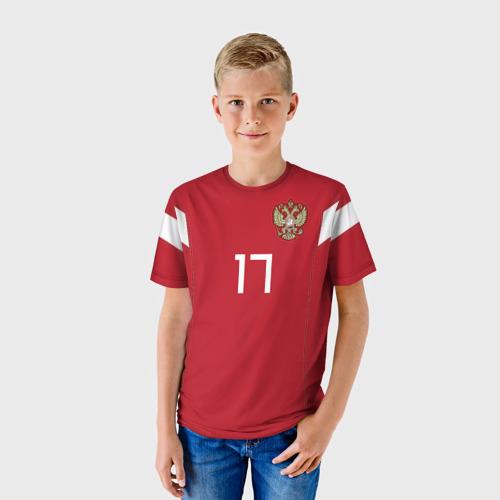 Детская футболка 3D 'Головин ЧМ 2018'
