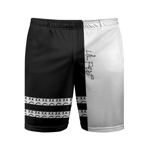 Мужские шорты 3D спортивные Lil Peep