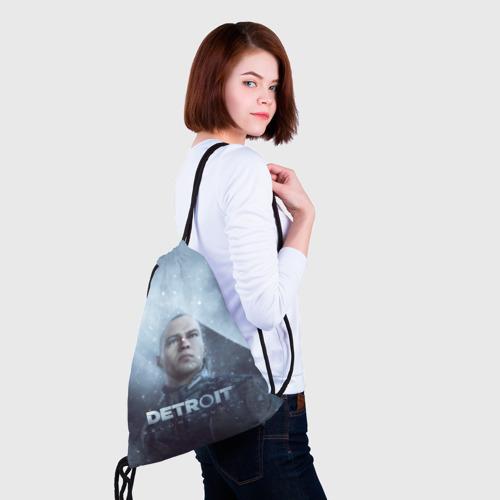Рюкзак-мешок 3D Detroit become human Фото 01