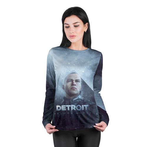 Женский лонгслив 3D для беременных  Фото 04, Detroit become human