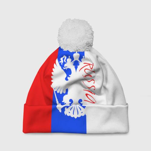 Шапка 3D c помпоном  Фото 01, Russia