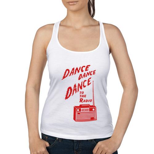 Женская майка борцовка  Фото 01, Dance to the radio