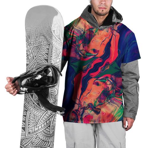 Накидка на куртку 3D  Фото 01, Abstraction