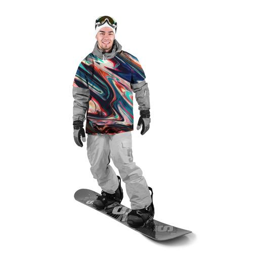 Накидка на куртку 3D  Фото 03, Разноцветные краски