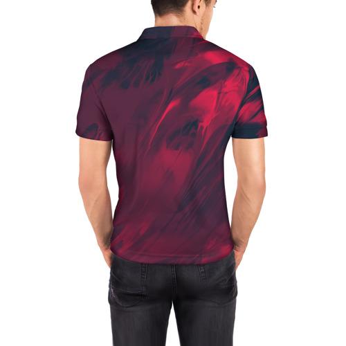 Мужская рубашка поло 3D  Фото 04, abstraction