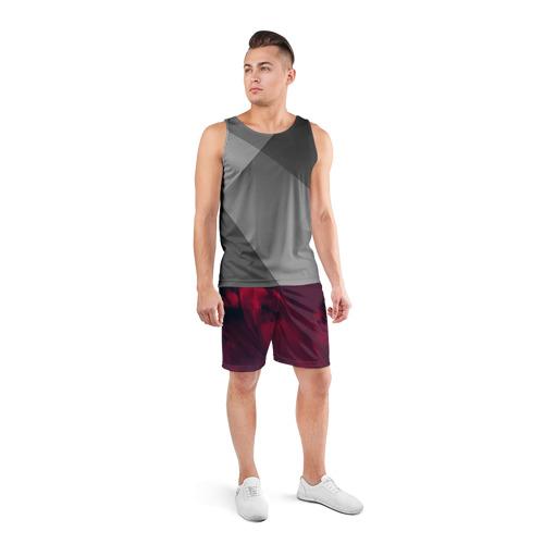 Мужские шорты 3D спортивные  Фото 04, abstraction