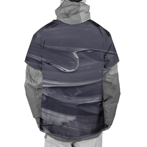 Накидка на куртку 3D  Фото 02, Серый градиент