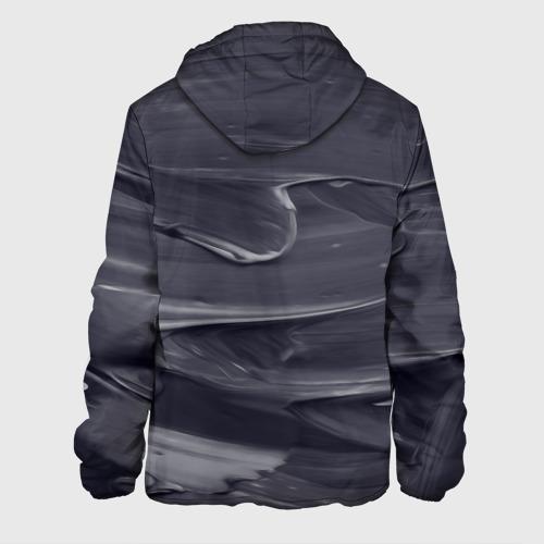 Мужская куртка 3D  Фото 02, Серый градиент