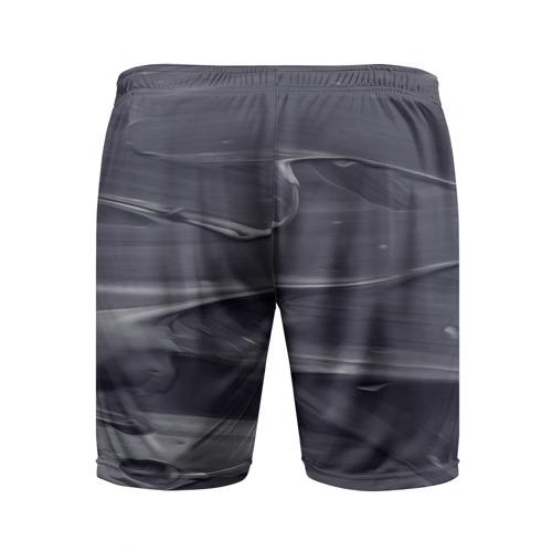 Мужские шорты 3D спортивные  Фото 02, Серый градиент