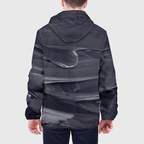 Мужская куртка 3D  Фото 05, Серый градиент