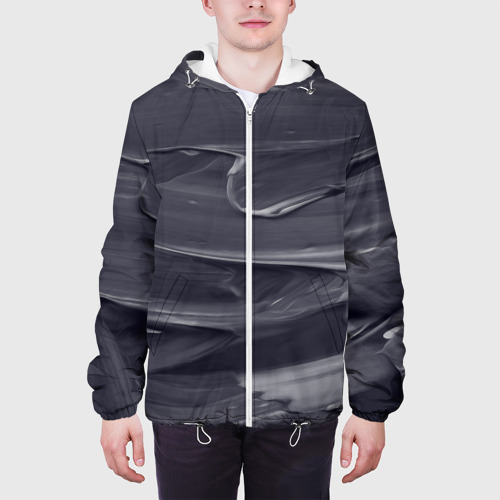 Мужская куртка 3D  Фото 04, Серый градиент