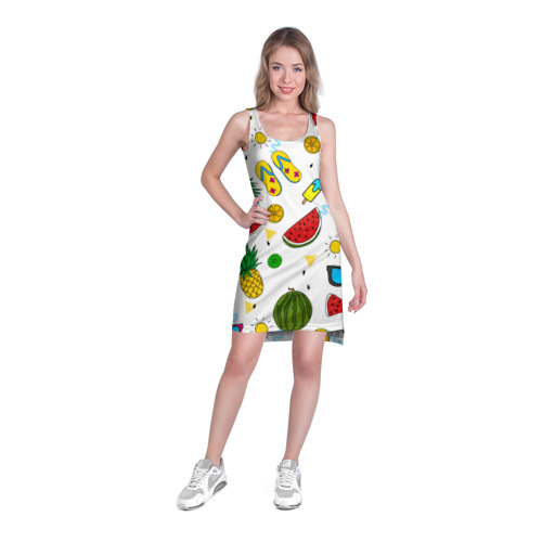 Платье-майка 3D Летняя Фото 01