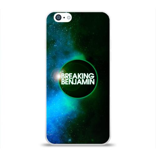 Чехол для Apple iPhone 6 силиконовый глянцевый  Фото 01, Breaking Benjamin