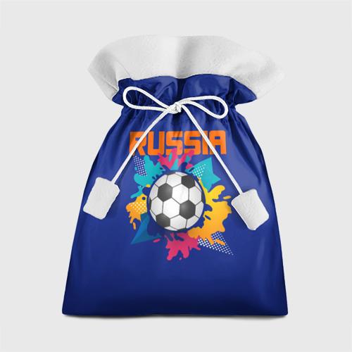 Подарочный 3D мешок Футбол Россия