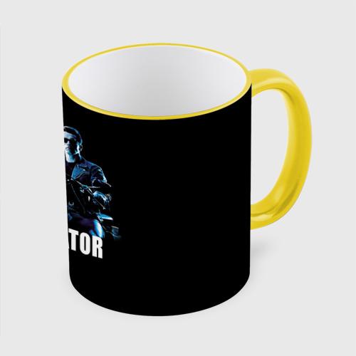 Кружка с полной запечаткой Terminator alive