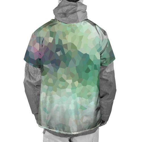 Накидка на куртку 3D  Фото 02, Геометрия ХАКИ
