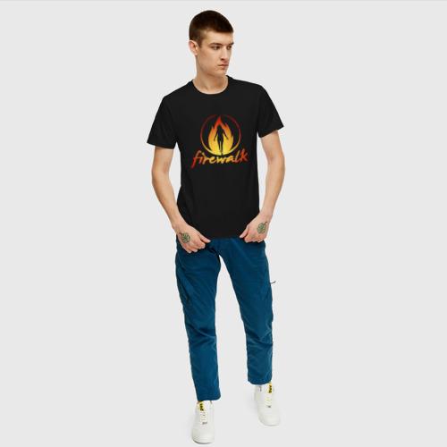 Мужская футболка хлопок Life is Strange Firewalk Fire Фото 01
