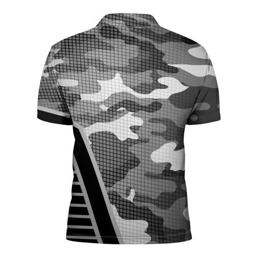 Мужская рубашка поло 3D  Фото 02, Камуфляж Russia