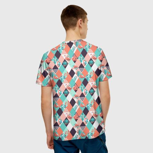 Мужская футболка 3D Фламинго  Фото 01