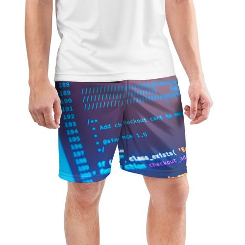 Мужские шорты 3D спортивные  Фото 03, Программирование