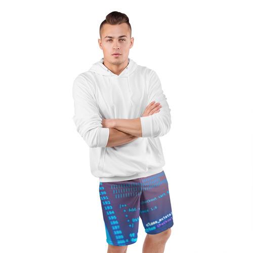 Мужские шорты 3D спортивные  Фото 05, Программирование