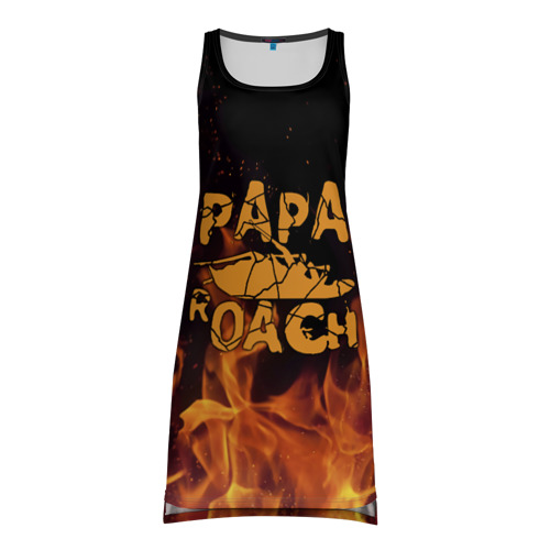Платье-майка 3D Papa Roach