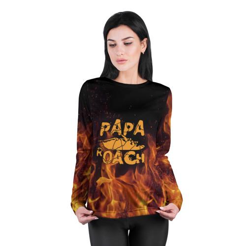 Женский лонгслив 3D для беременных  Фото 04, Papa Roach