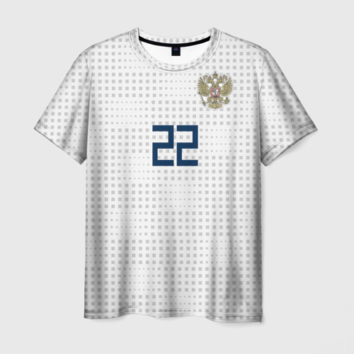 Мужская футболка 3D 'Дзюба ЧМ 2018'