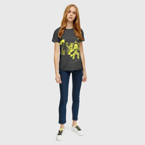 Женская футболка 3D ASAP Rocky. TESTING Фото 01