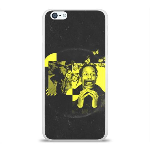 Чехол для Apple iPhone 6Plus/6SPlus силиконовый глянцевый ASAP Rocky. TESTING Фото 01