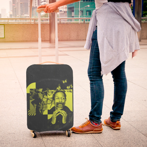 Чехол для чемодана 3D ASAP Rocky. TESTING Фото 01