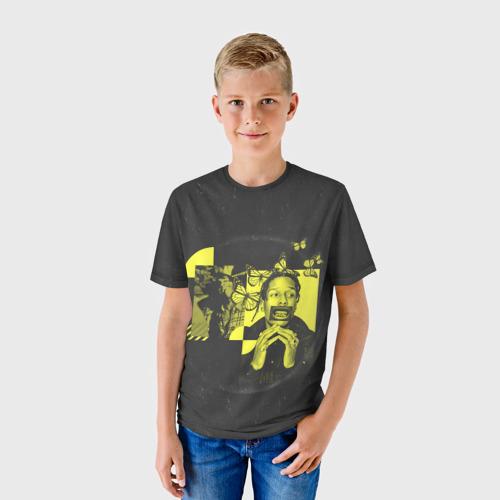 Детская футболка 3D ASAP Rocky. TESTING Фото 01