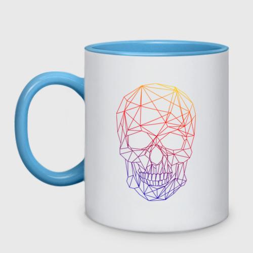 Кружка двухцветная The Skull (Fade) One фото