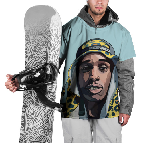 Накидка на куртку 3D  Фото 01, ASAP Rocky